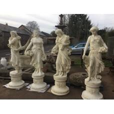 Four Season Statues