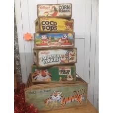 Kellogg's Boxes
